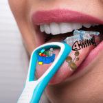 Škrabka na jazyk | Bez kazů a zápachu v ústech | Ústní hygiena | Zdraví