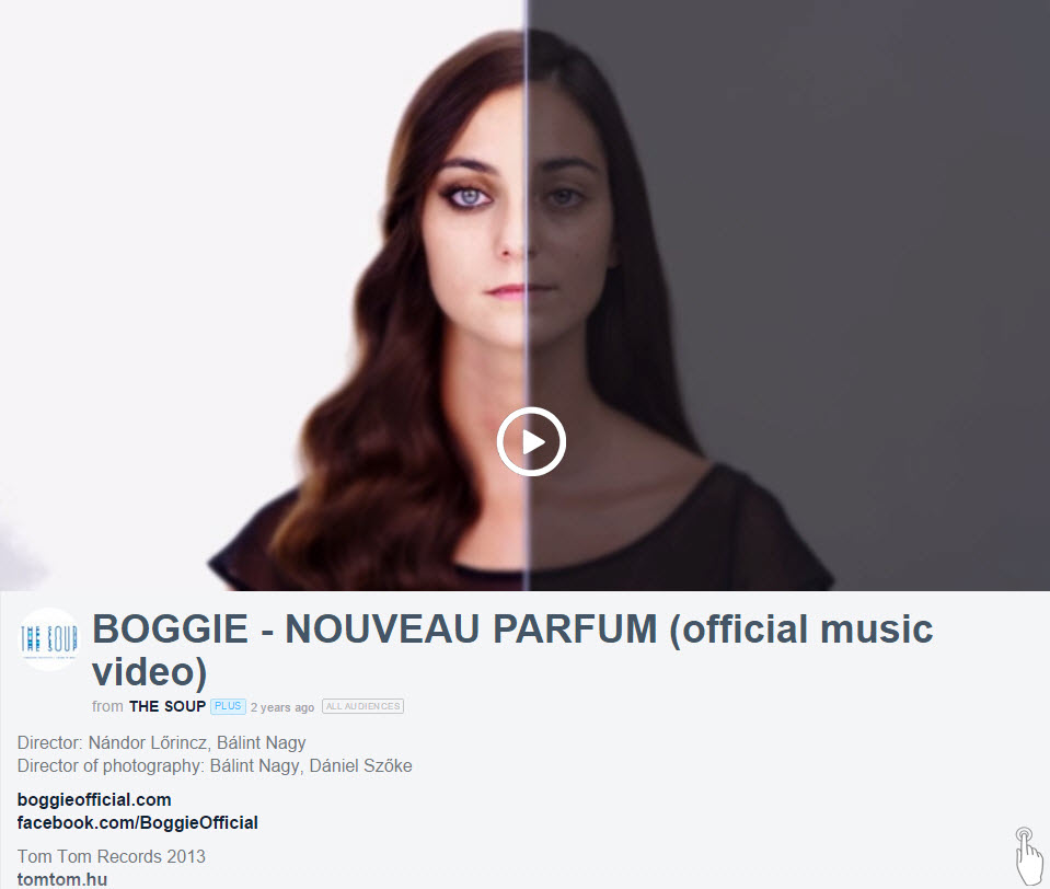Foto: Retuše moderního světa   BOGGIE - NOUVEAU PARFUM from THE SOUP   Zdroj: vimeo.com
