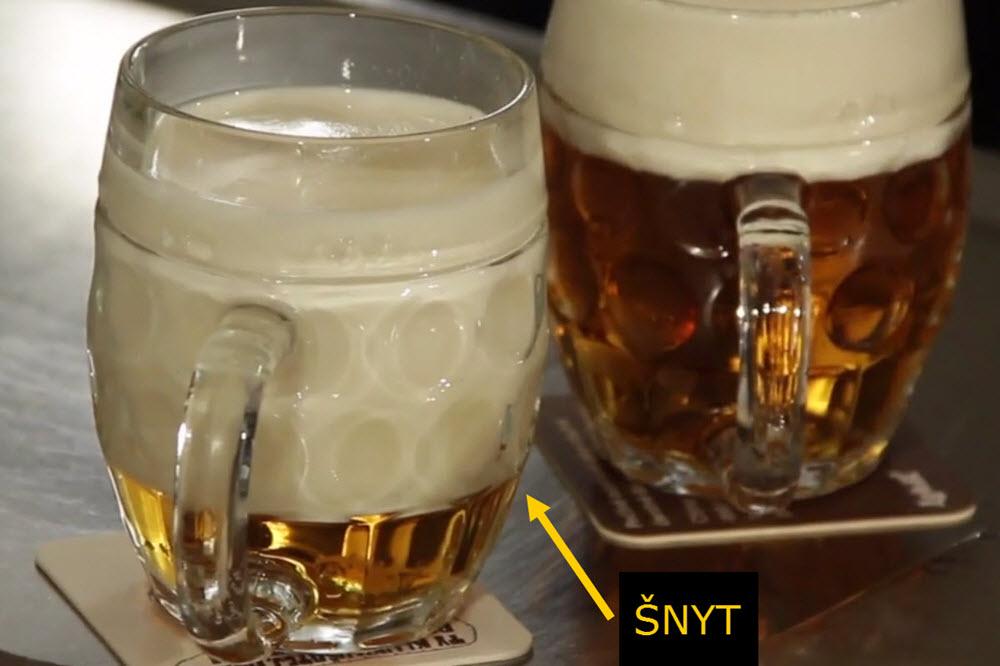 Šnyt | Jak si (nechat) natočit pivo?