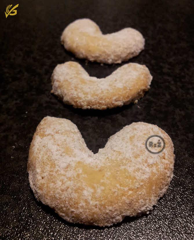 Bezlepkové vanilkové rohlíčky   Bezlepkové recepty