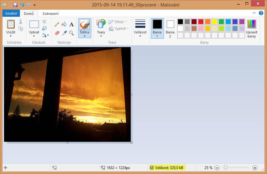 Uložit fotku | Jak zmenšit fotku