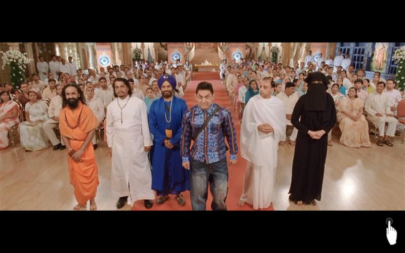 P.K. (2014)   Indie   153 min   Zdroj: Film P.K. (printscreen)