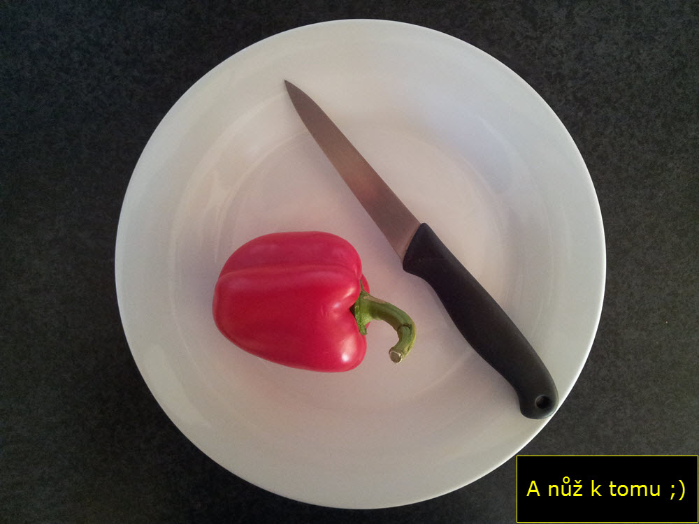 Jak očistit papriku?