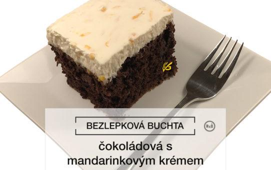 Fotografie - bezlepková čokoládová buchta s mandarinkovým krémem | Bezlepkové recepty | Rady ze života