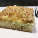 Bezlepkový koláč s drobenkou bez kynutí | 23. recept