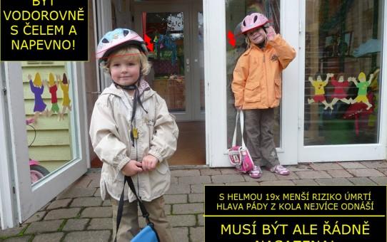 Ilustrativní foto: Helma na kolo (dětská)