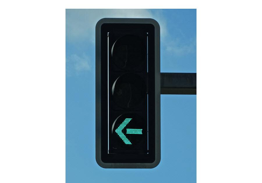 Zelená šipka | Semafor