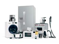 fotografie elektroniky, elektra, bílé spotřební zboží, spotřební zboží