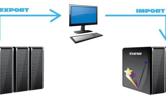 Export a import databáze   Změna webhostingu   Převod   PC