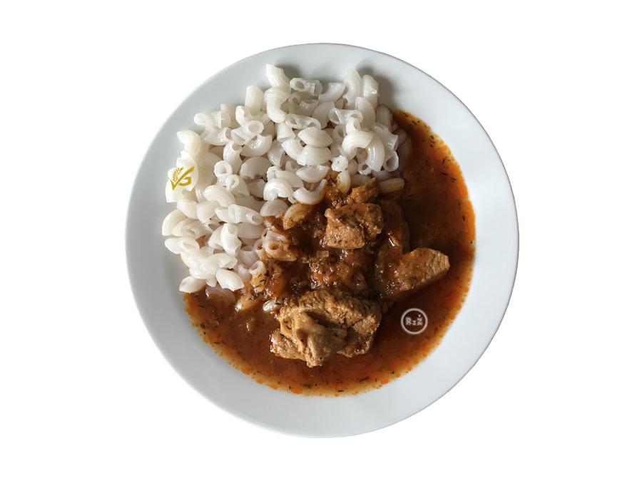 Bezlepkové hovězí na divoko s rýžovými kolýnky | Bezlepkové recepty