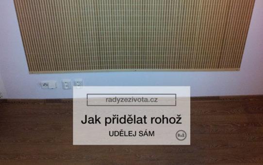 Fotografie rohože visící na zdi z rákosu, Autor fotografie: Jiří Samuel, radyzezivota.cz