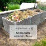 Kompostér   Kompost   Zahrada   Udělej si sám