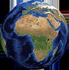 obrázek globusu - mapa webu