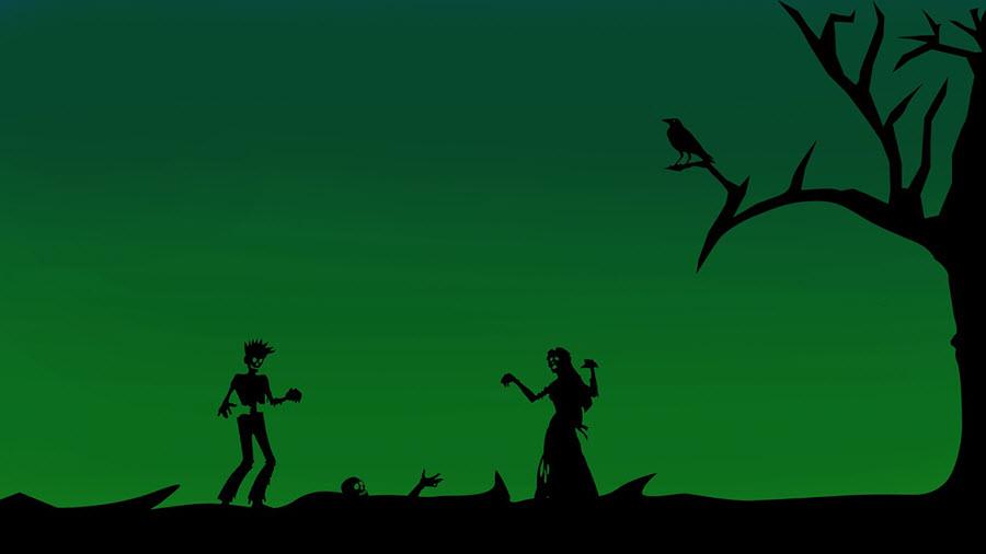 Animovaný obrázek dvou příšer jako ze zlého snu - Sny | Jak se zbavit noční můry? | Bloky | Dobrý spánek je půl zdraví | Hlava | Psychologie