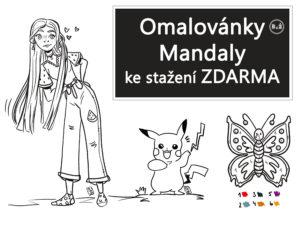 Omalovánky a mandaly zdarma pro každého od radyzezivota.cz, Ke stažení, autor obrázků: Pája
