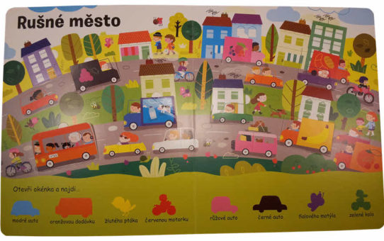 Barvy hrou | Jak naučit děti poznávat barvy | Knihy pro děti (1-4)