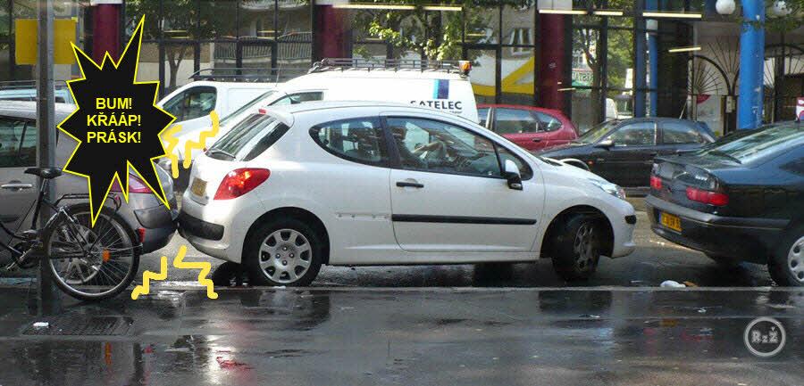 Parkování po francouzsku   Zábava