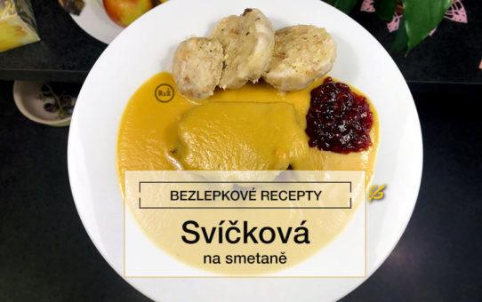 Svíčková na smetaně na bílém talíři | Svíčková na smetaně | Autor fotografie: Jiří Samuel | Bezlepkové recepty