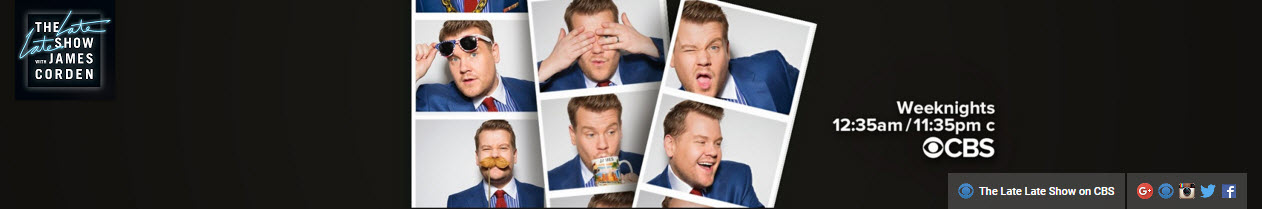 The Late Late Show with James Corden   Kultura