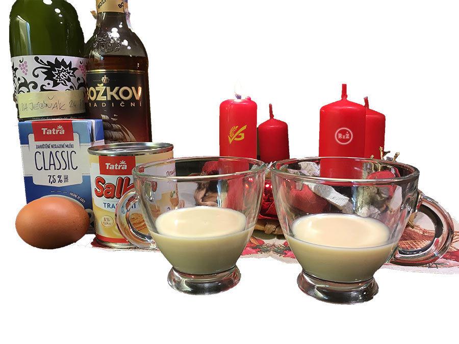 Domácí vaječný likér   Vaječňák   Rodinný recept   Udělej si sám   Pití