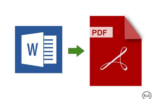 Ilustrativní foto - Jak vytvořit PDF soubor z wordu?   Formát .pdf   Jednoduše   Software
