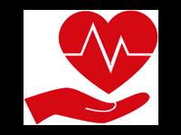 Symbol Srdce v dlani zobrazující Zdraví | Zdroj: shutterstock.com