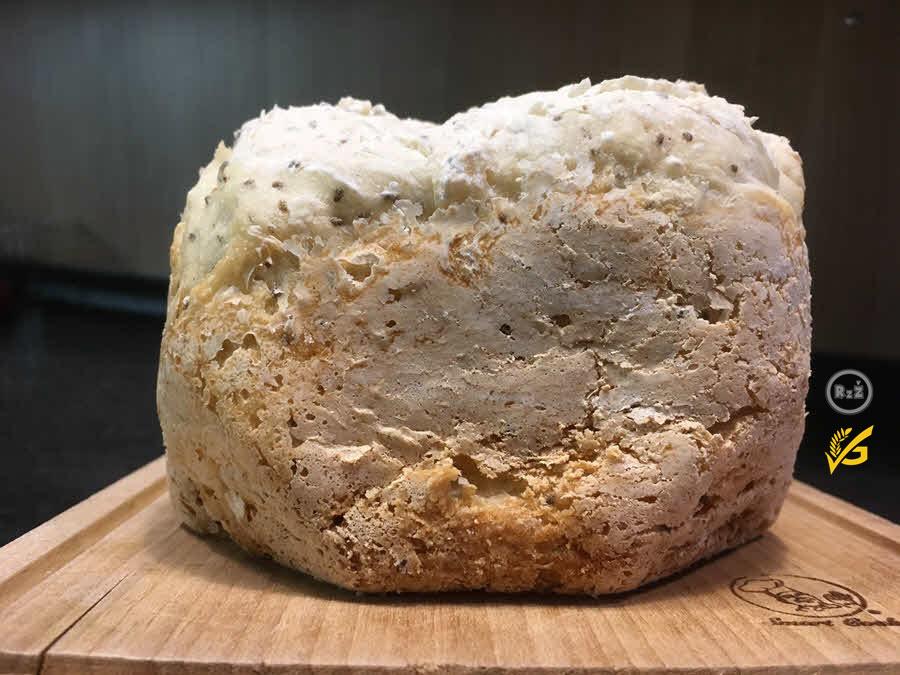 Bezlepkový chléb z domácí pekárny   Bezlepkové recepty