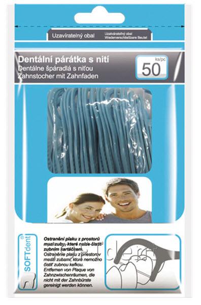 Párátka s nití | Zubní hygiena | Zdraví