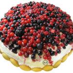 Bezlepkový tvarohový dort s ovocem | 14. recept