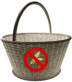 Košík symbolizující košík rad pro bezlepkáře - Rady pro bezlepkáře | Celiakie | Nesnášenlivost lepku | Alergie